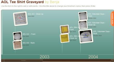 Ben's T-Shirt Graveyard