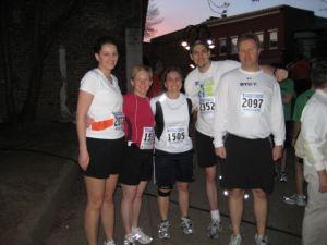 30am start of the race!