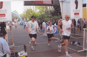 Charlottesville Half Marathon 2008 Finishline