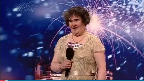Susan Boyle BGT Audition