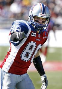 CFL's All time leader Receiver